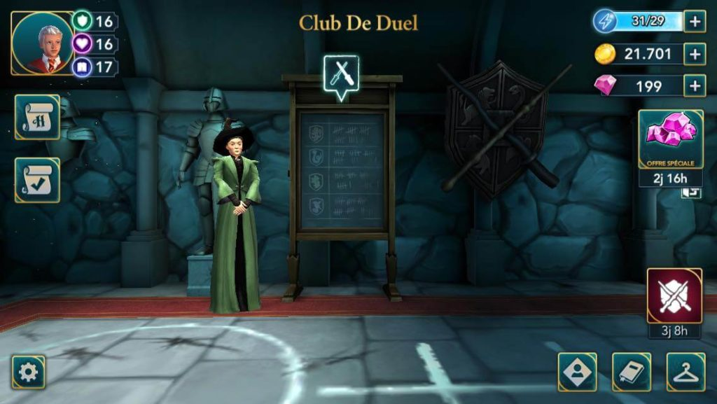 trouver-adversaire-duel-hogwarts-mystery